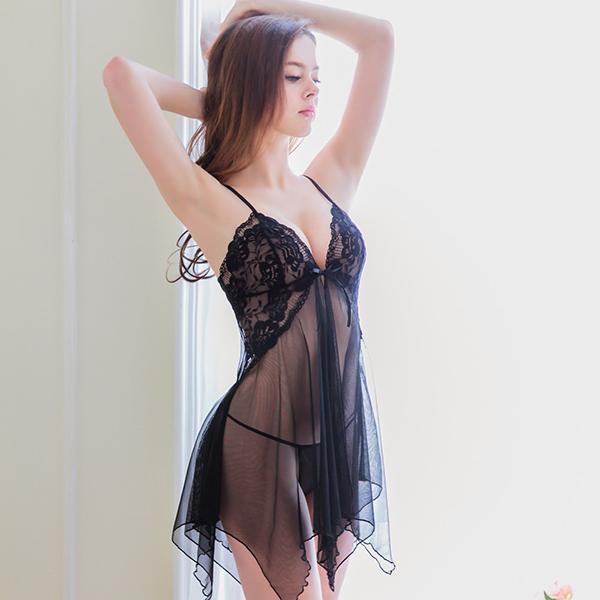 [ALICE'S SECRET] 섹시롱슬립&팬티 세트 NY14020042-1 (176)